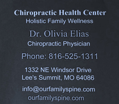 WPPHOA Link to The Chiropractic Health Center