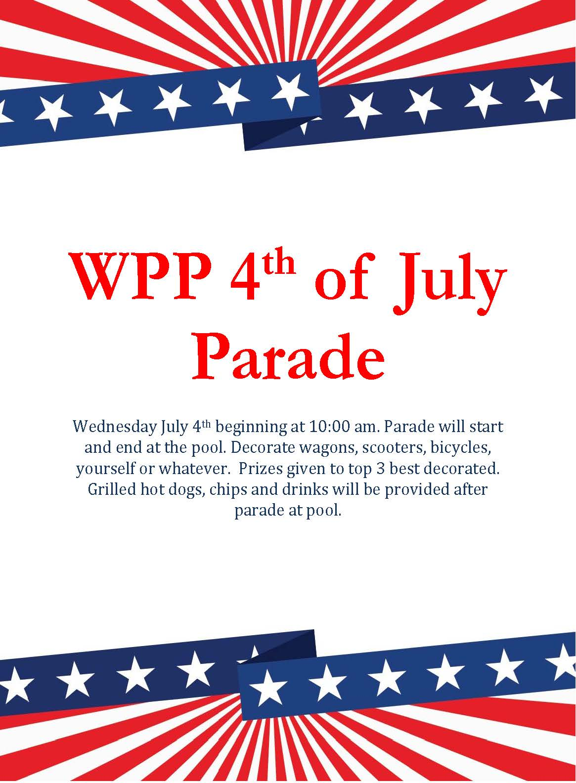 WPP 4th of July Parade